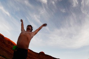 Why I swam through Canyonlands: Fish can't live where people can't swim