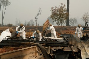 After the Camp Fire, forensic teams seek the lost