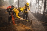 What it's like to fight wildfires in the West