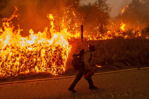 West coast wildfires signal a planetary fire age
