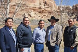 Interior has yet to meet with Bears Ears tribal leaders