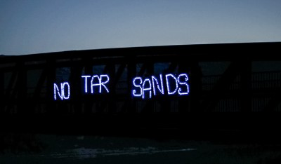 No Tar Sands Byers