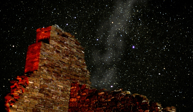 chaco canyon night