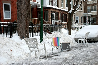 Chicago parking dips snow removal