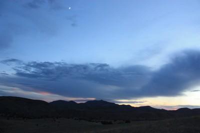 Oxygen-less sky
