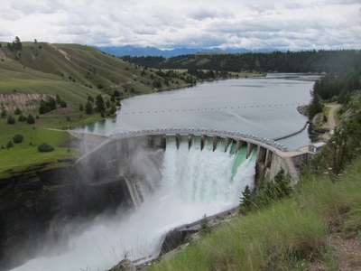 Kerr Dam on Montana's Flathead Reservation is one of 11 dams may change hands twice by 2015