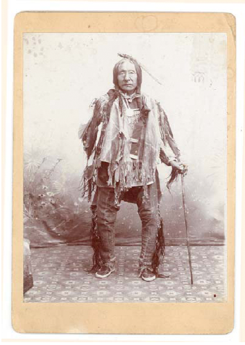 Little Thunder, a member of the Sioux tribe