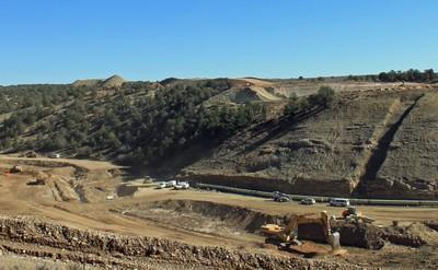 Long Hollow Dam Site