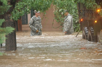 National Guard Flood