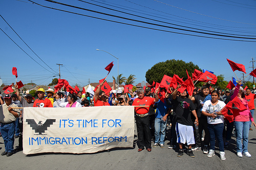 Immigration rally 2013