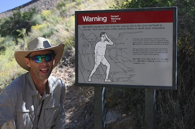 Grand Canyon Warning