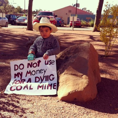 dying coal mine
