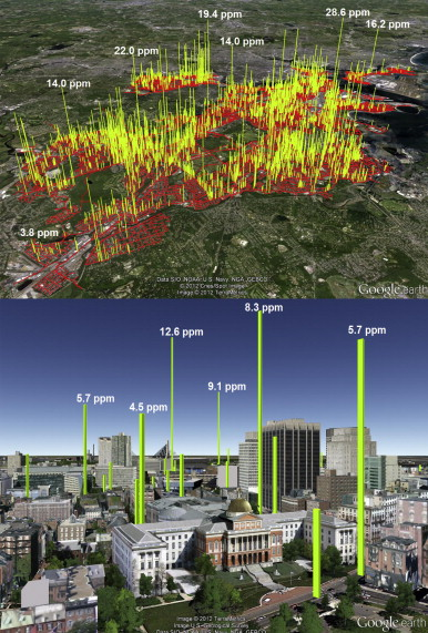 Methane Leaks Boston