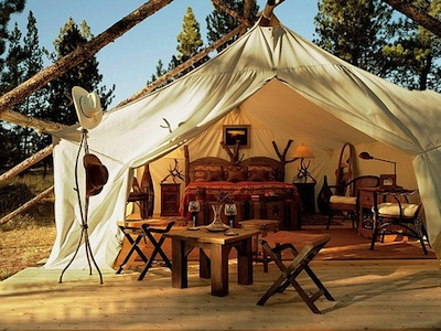What Is Glamping Anyway High Country News