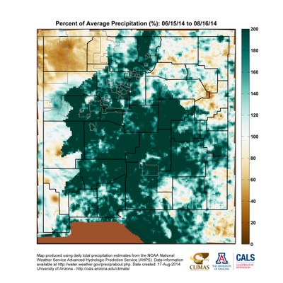 2014 Monsoon Map NM