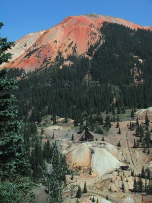 Red Mountain and Yankee Girl Mine