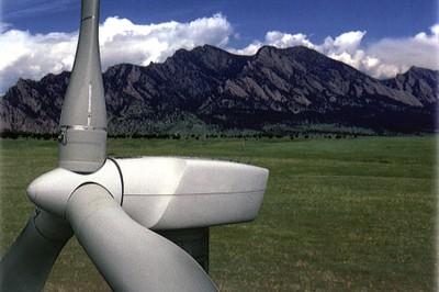 Boulder windmill