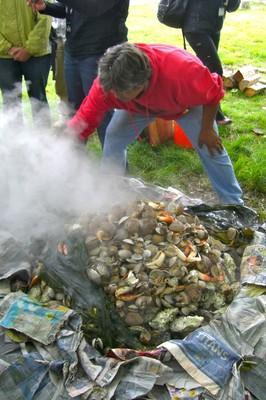 S'Klallam clam bake