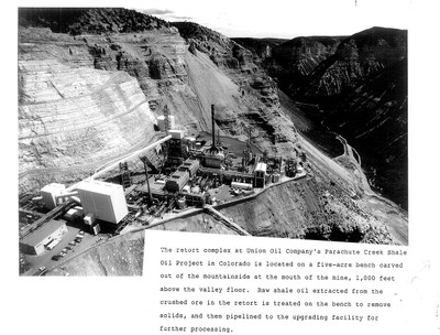 Parachute Creek Shale Oil Project