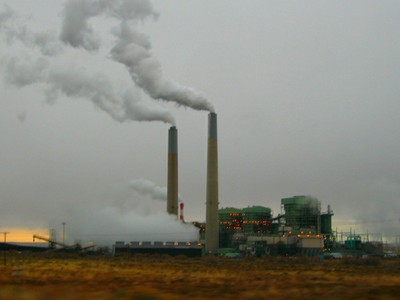 Coal-fired power plant by Ken Lund