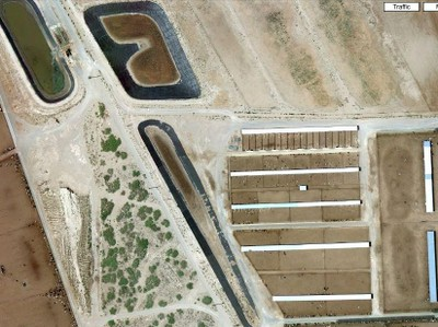 New Mexico megadairy aerial view