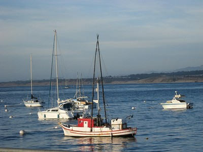 Fishing Boats in Monterey Bay