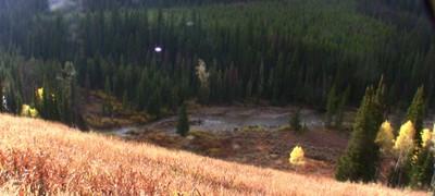 Hoback River in the Wyoming Range