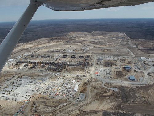 Kearl oil sands