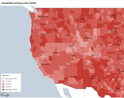 Low income map