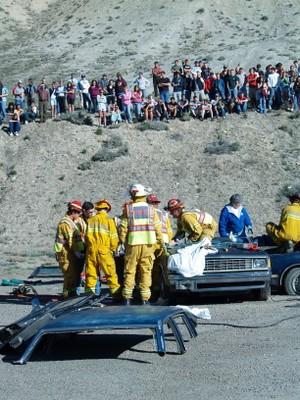 North Fork Ambulance Association Mock Extraction