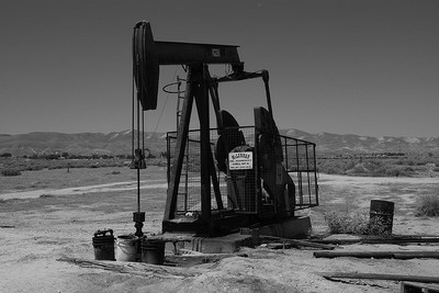 pumpjack in California