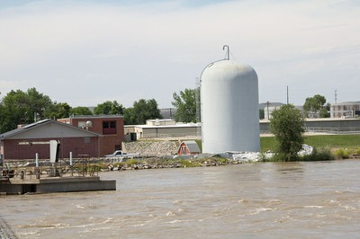 Laurel water treatment plant