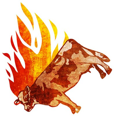 Cattle fire