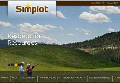 Simplot screen shot