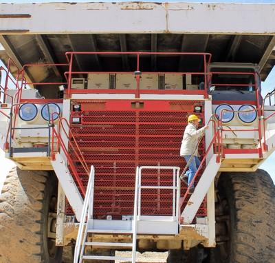 Big mine truck