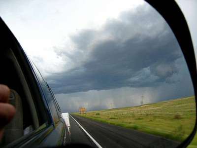 Thunderclouds New Mexico