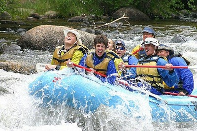 Whitewater rafting in Colorado's Gunnison National Forest