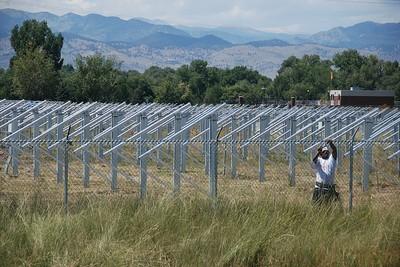 Boulder solar project