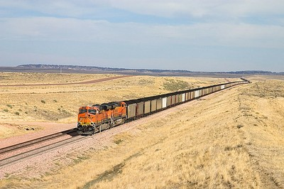 Wyoming coal train