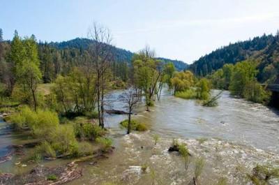 Trinity River Restoration/High Flow