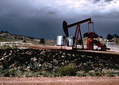 pumpjack wyoming
