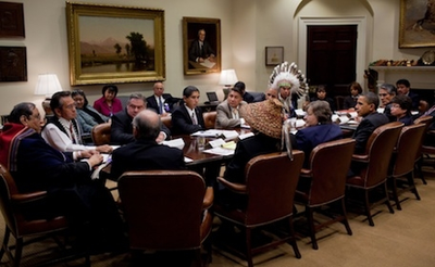 White House meeting with tribal leaders