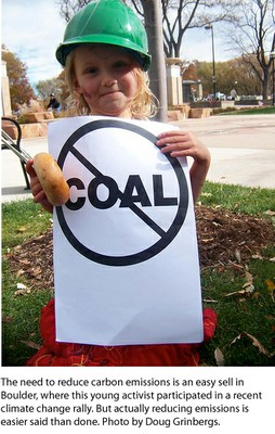Boulder Child Protests Coal