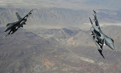 F-16s in Nevada