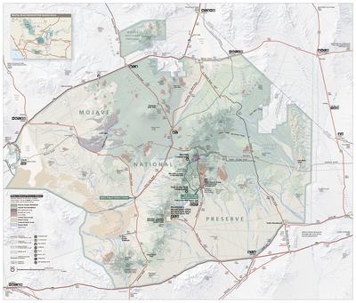 Mojave Map