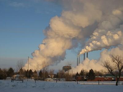 Colstrip, Montana power plant