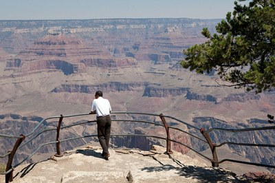 Obama at the Grand Canyon