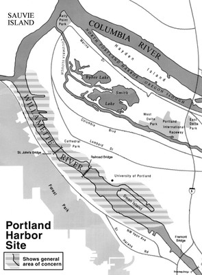 Portland Harbor site
