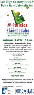 Politics on Planet Idaho