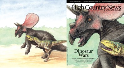Dueling Dinosaurs